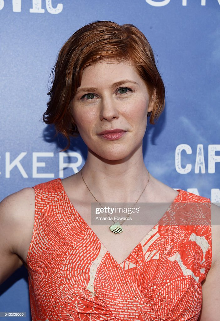 Actress Trin Miller arrives at the premiere of Bleecker Street Media's 'Captain Fantastic' at Harmony Gold on June 28, 2016 in Los Angeles, California.