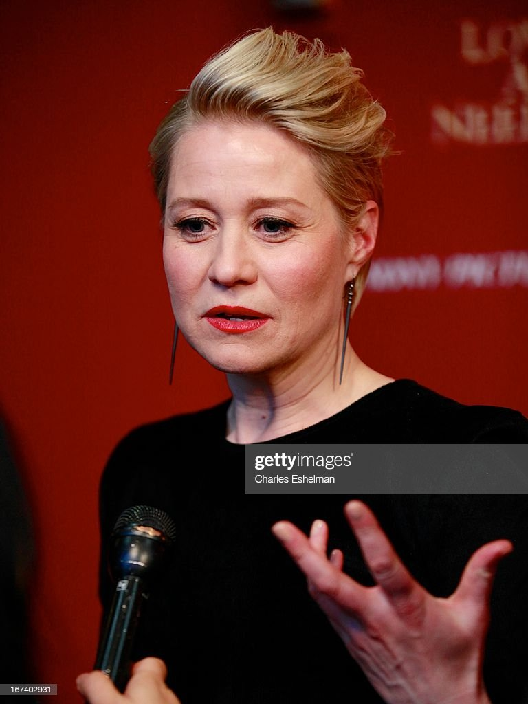 Actress Trine Dyrholm attends The Cinema Society & Disaronno screening of Sony Pictures Classics' 'Love Is All You Need' at Landmark Sunshine Cinema on April 24, 2013 in New York City.