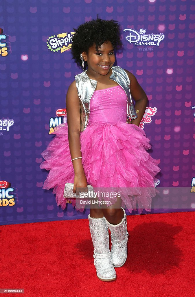 Actress Trinitee Stokes attends the 2016 Radio Disney Music Awards at Microsoft Theater on April 30, 2016 in Los Angeles, California.