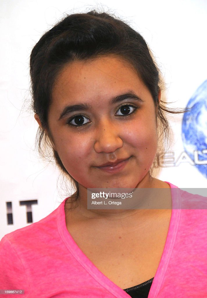 Actress Trinity Marquez participates in the Red Carpet Health Expo held at The Vitamin Shoppe on January 12, 2013 in Los Angeles, California.
