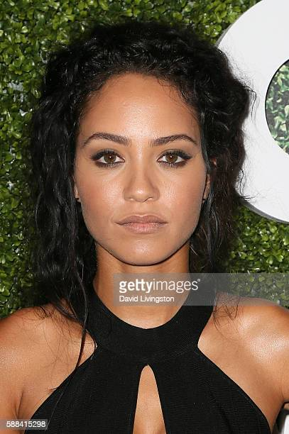 Actress Tristin Mays arrives at the CBS CW Showtime Summer TCA Party at the Pacific Design Center on August 10 2016 in West Hollywood California