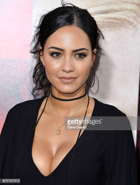 Actress Tristin Mays arrives at the Premiere Of Warner Bros Pictures' 'Unforgettable' at TCL Chinese Theatre on April 18 2017 in Hollywood California