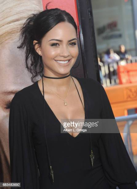 Actress Tristin Mays arrives for the Premiere Of Warner Bros Pictures' 'Unforgettable' held at TCL Chinese Theatre on April 18 2017 in Hollywood...