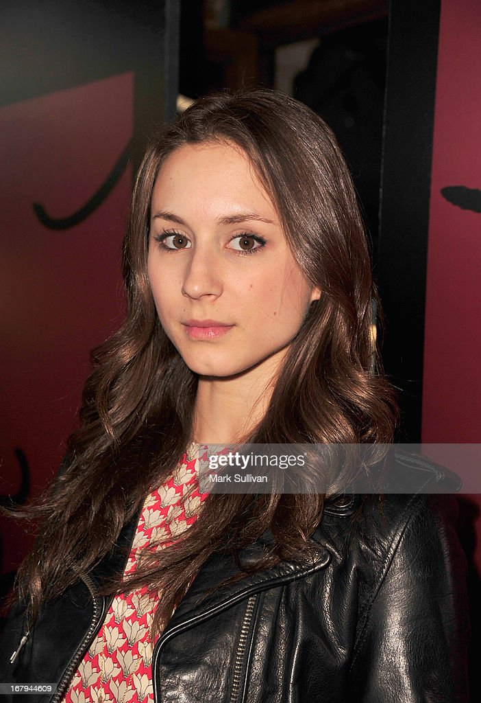 Actress Troian Bellisario arrives for the party to celebrate the one year anniversary of The WIGS Digital Channel at Akasha on May 2, 2013 in Culver City, California.