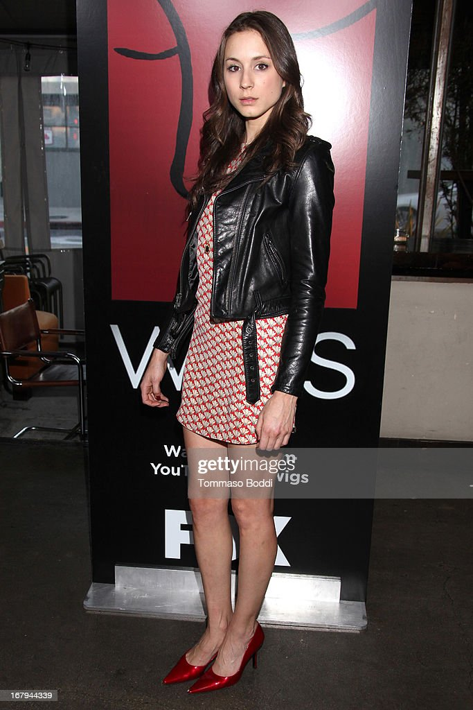 Actress Troian Bellisario attends the 1 year anniversary celebration for the WIGS Digital Channel held at Akasha on May 2, 2013 in Culver City, California.