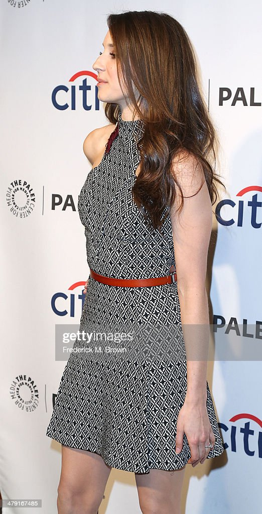 Actress Troian Bellisario attends The Paley Center for Media's PaleyFest 2014 Honoring 'Pretty Little Liars' at the Dolby Theatre on March 16, 2014 in Hollywood, California.