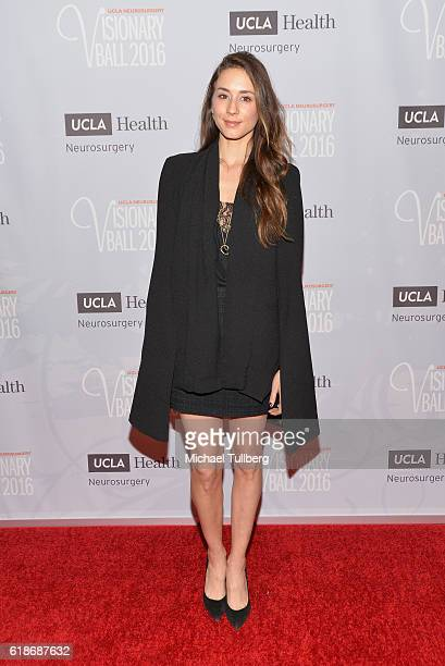 Actress Troian Bellisario attends the UCLA Department of Neurosurgery Visionary Ball 2016 at the Beverly Wilshire Four Seasons Hotel on October 27...