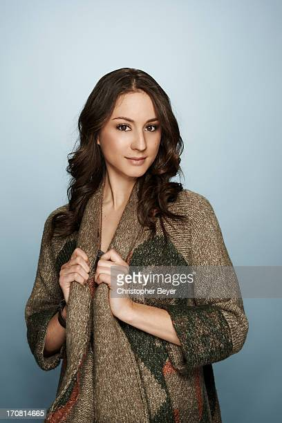 Actress Troian Bellisario is photographed for Entertainment Weekly Magazine on January 21 2013 in Park City Utah