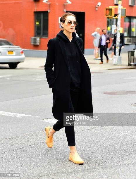 Actress Troian Bellissario is seen walking in Soho on May 3 2017 in New York City