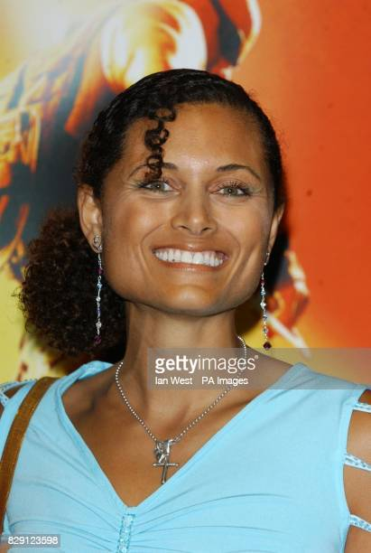 Actress Troy TitusAdams arrives for the premiere of The Chronicles Of Riddick at the Vue West End in Leicester Square central London