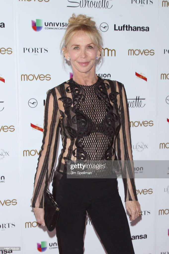 Actress <a gi-track='captionPersonalityLinkClicked' href=/galleries/search?phrase=Trudie+Styler&family=editorial&specificpeople=203268 ng-click='$event.stopPropagation()'>Trudie Styler</a> attends the New York Moves Magazine's 10th Anniversary Power Women Gala at the Grand Hyatt New York on November 14, 2013 in New York City.