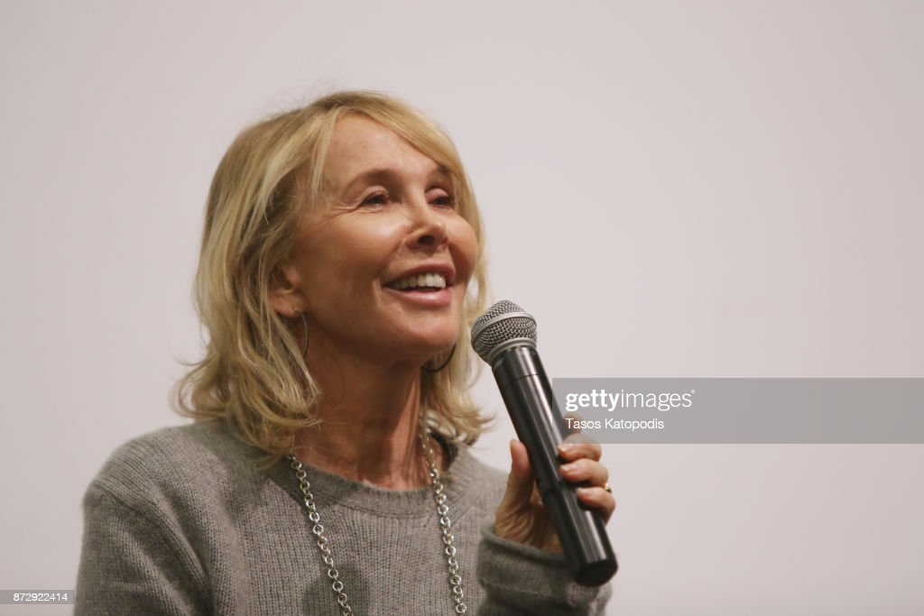 Actress Trudie Styler speaks onstage during the 'Freak Show' screening and Q&A at Newcomb Hall Theater during the 30th Annual Virginia Film Festival at the University of Virginia on November 11, 2017 in Charlottesville, Virginia.
