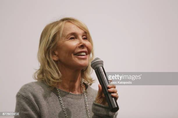Actress Trudie Styler speaks onstage during the 'Freak Show' screening and QA at Newcomb Hall Theater during the 30th Annual Virginia Film Festival...