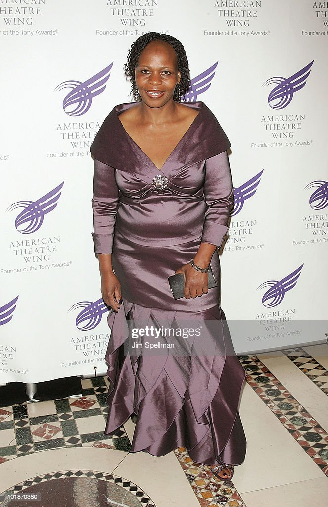 Actress Tshidi Manye attends the 2010 American Theatre Wing Spring Gala at Cipriani 42nd Street on June 7, 2010 in New York City.