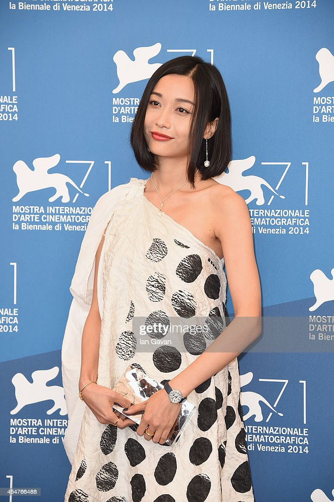 Actress Tuan Yuan wearing a Jaeger-LeCoultre watch attends 'The Golden Era' (Huangjin Shidai) photocall during the 71st Venice Film Festival at the Palazzo del Casino on September 6, 2014 in Venice, Italy.