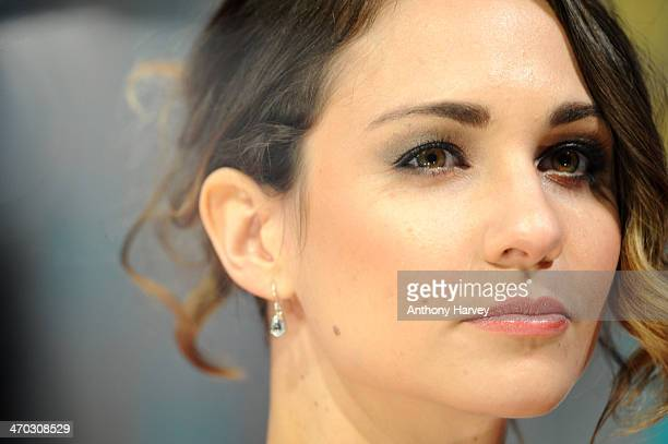 Actress Tuppence Middleton attends the EE British Academy Film Awards 2014 at The Royal Opera House on February 16 2014 in London England