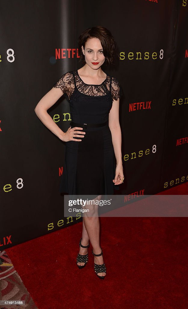 Actress <a gi-track='captionPersonalityLinkClicked' href=/galleries/search?phrase=Tuppence+Middleton&family=editorial&specificpeople=5846961 ng-click='$event.stopPropagation()'>Tuppence Middleton</a> attends the Premiere Of Netflix's 'Sense8' at AMC Metreon 16 on May 27, 2015 in San Francisco, California.