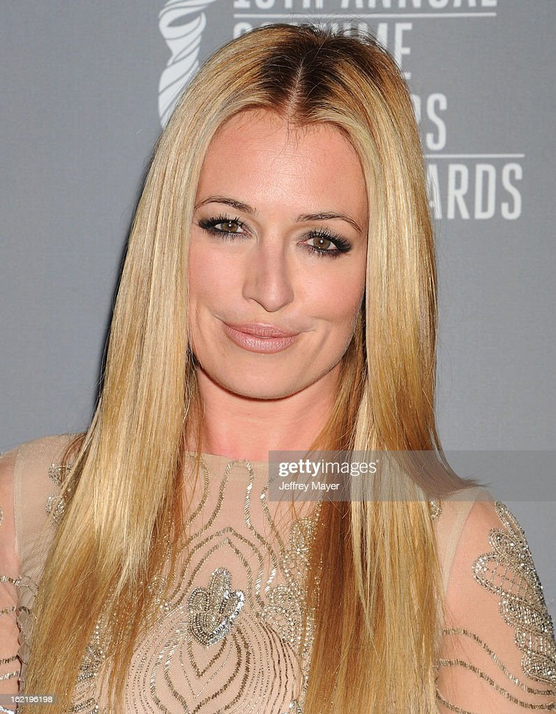 Actress, TV Personality Cat Deeley arrives at the 15th Annual Costume Designers Guild Awards at The Beverly Hilton Hotel on February 19, 2013 in Beverly Hills, California.
