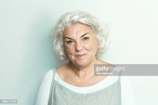 Actress Tyne Daly is photographed for Los Angeles Times on September 11 2016 in Atlanta Georgia