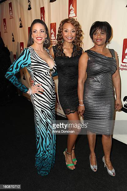 Actress Tyra Colar attends the producers engineers wing of the recording Academy's 6th Annual GRAMMY Event 'An Evening Of Jazz' at The Village...