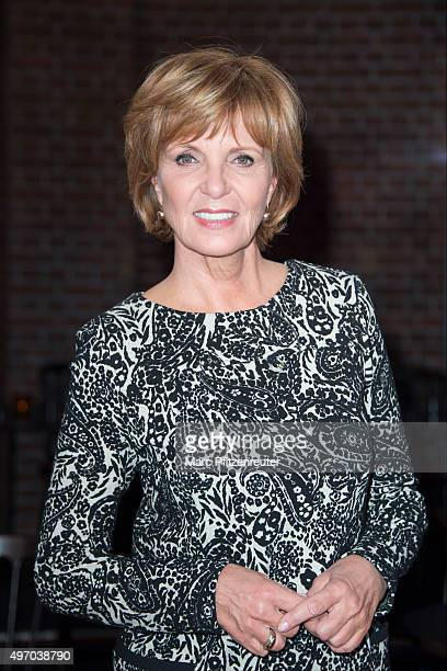 Actress Ulrike Kriener attends the 'Koelner Treff' TV Show at the WDR Studio on November 13 2015 in Cologne Germany