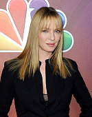 Actress Uma Thurman arrives at NBCUniversal's 2015 Winter TCA Tour Day 2 at The Langham Huntington Hotel and Spa on January 16 2015 in Pasadena...