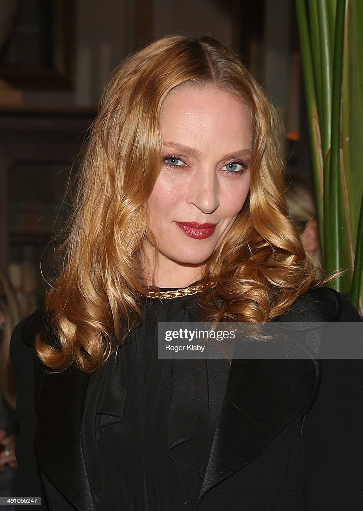 Actress <a gi-track='captionPersonalityLinkClicked' href=/galleries/search?phrase=Uma+Thurman&family=editorial&specificpeople=171973 ng-click='$event.stopPropagation()'>Uma Thurman</a> attends Restoration Hardware Opening Celebration for