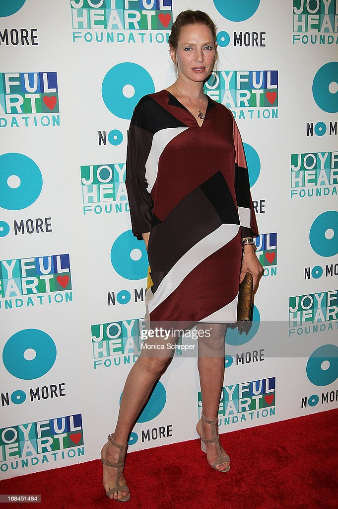 Actress <a gi-track='captionPersonalityLinkClicked' href=/galleries/search?phrase=Uma+Thurman&family=editorial&specificpeople=171973 ng-click='$event.stopPropagation()'>Uma Thurman</a> attends the 2013 Joyful Heart Foundation gala at Cipriani 42nd Street on May 9, 2013 in New York City.