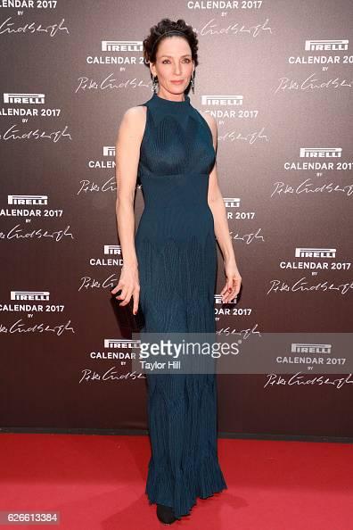 Actress Uma Thurman attends the 2016 Pirelli Calendar unveiling gala at La Cite Du Cinema on November 29 2016 in SaintDenis France