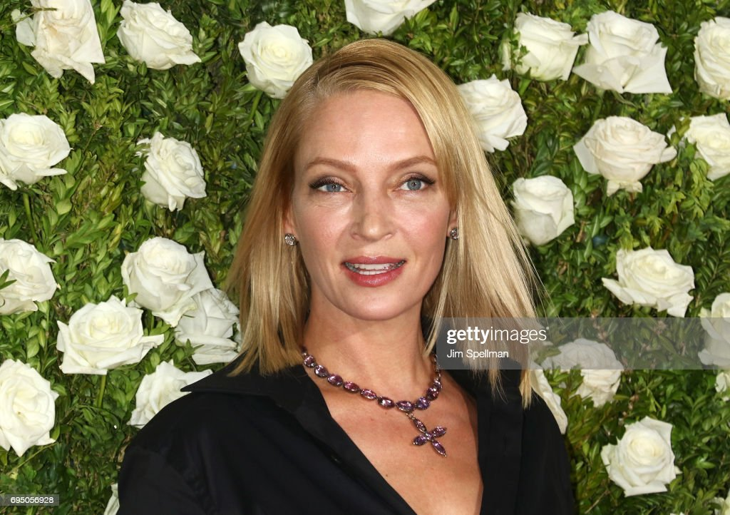 Actress Uma Thurman attends the 71st Annual Tony Awards at Radio City Music Hall on June 11, 2017 in New York City.