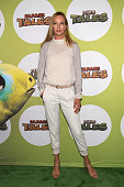 Actress Uma Thurman attends the launch of Dino Tales and Safari Tales at the American Museum of Natural History with Kuato Studios on July 16 2015 in...