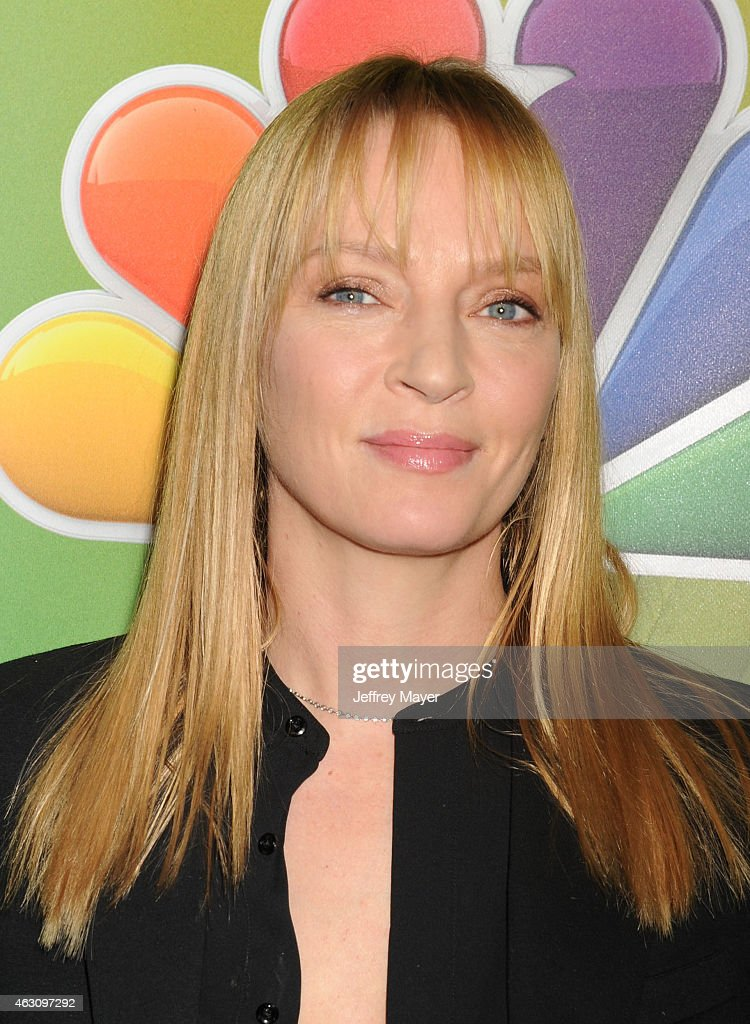Actress <a gi-track='captionPersonalityLinkClicked' href=/galleries/search?phrase=Uma+Thurman&family=editorial&specificpeople=171973 ng-click='$event.stopPropagation()'>Uma Thurman</a> attends the NBCUniversal 2015 Press Tour at the Langham Huntington Hotel on January 16, 2015 in Pasadena, California.