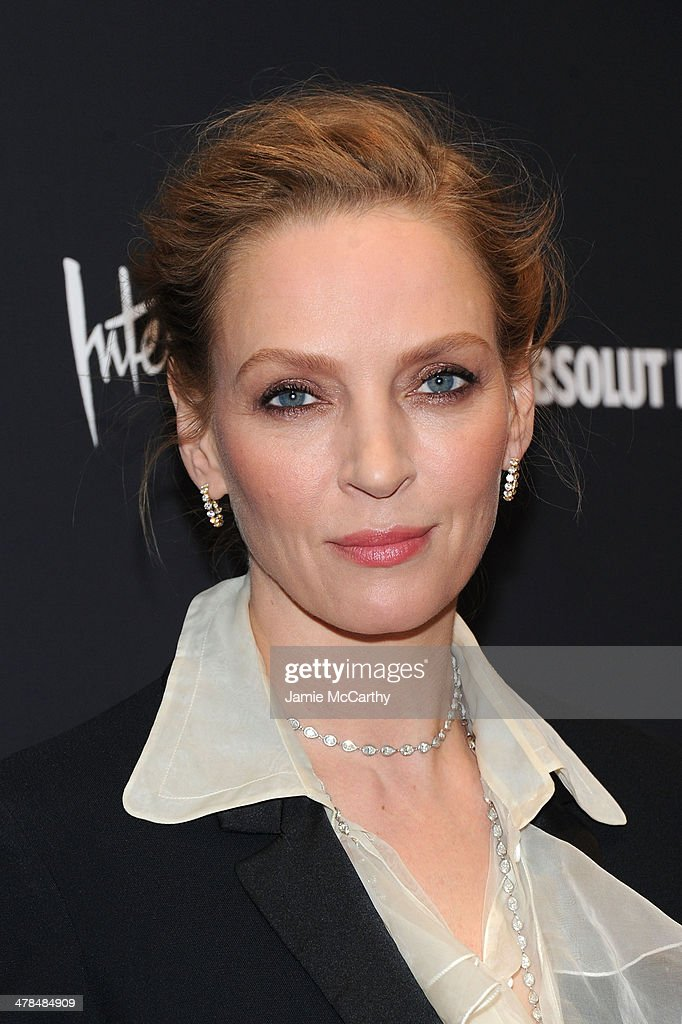 Actress <a gi-track='captionPersonalityLinkClicked' href=/galleries/search?phrase=Uma+Thurman&family=editorial&specificpeople=171973 ng-click='$event.stopPropagation()'>Uma Thurman</a> attends the 'Nymphomaniac: Volume I' New York screening at Museum of Modern Art on March 13, 2014 in New York City.