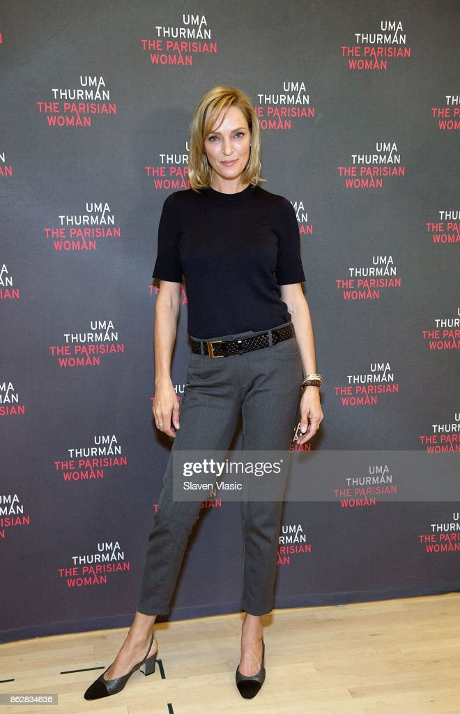 "Uma Thurman ""The Parisian Woman"" Press Meet & Greet"