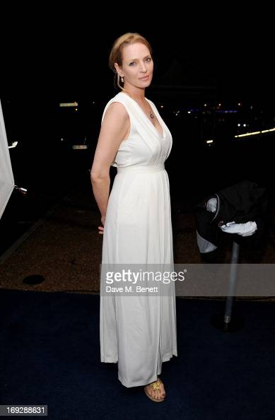Actress Uma Thurman attends the Robert Redford 'All is Lost' afterparty in association with Universal and Film Nation hosted by John Walker Sons...