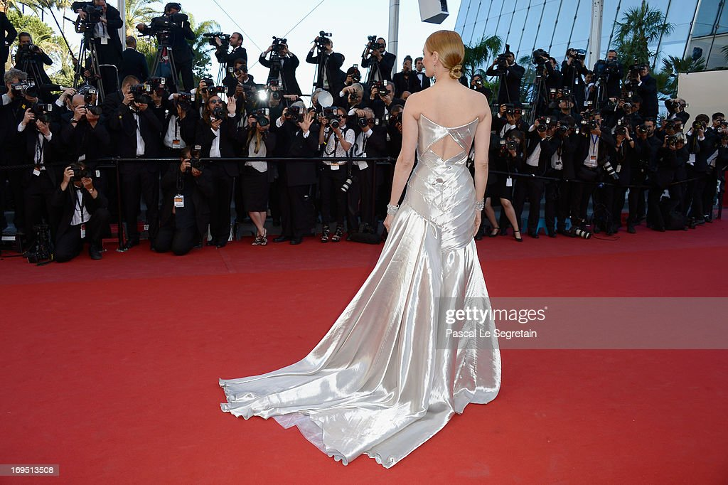 Actress Uma Thurman attends the 'Zulu' Premiere and Closing Ceremony during the 66th Annual Cannes Film Festival at the Palais des Festivals on May 26, 2013 in Cannes, France.