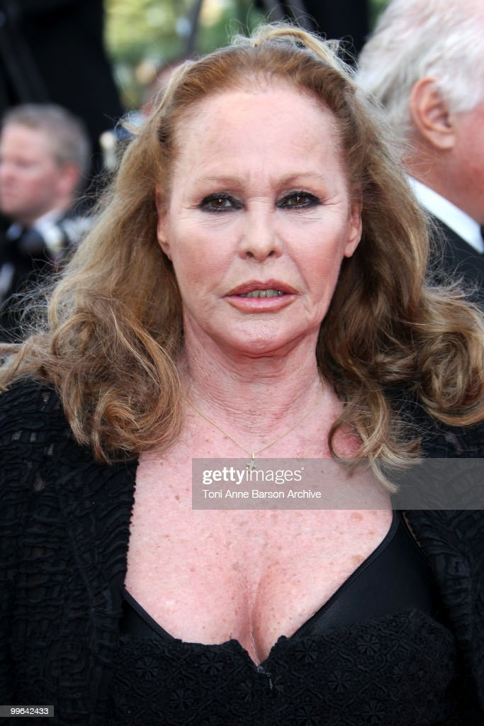 Actress <a gi-track='captionPersonalityLinkClicked' href=/galleries/search?phrase=Ursula+Andress&family=editorial&specificpeople=213815 ng-click='$event.stopPropagation()'>Ursula Andress</a> attends the premiere of 'Biutiful' held at the Palais des Festivals during the 63rd Annual International Cannes Film Festival on May 17, 2010 in Cannes, France.