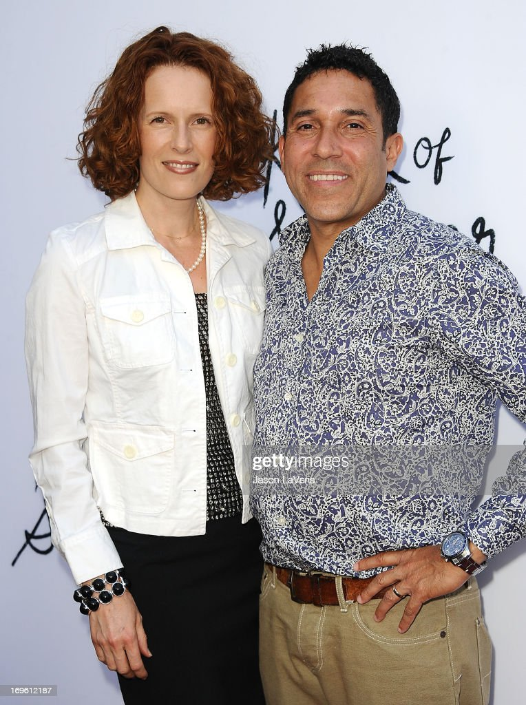Actress Ursula Whittaker and actor <a gi-track='captionPersonalityLinkClicked' href=/galleries/search?phrase=Oscar+Nunez&family=editorial&specificpeople=851199 ng-click='$event.stopPropagation()'>Oscar Nunez</a> attend the premiere of 'The Kings Of Summer' at ArcLight Cinemas on May 28, 2013 in Hollywood, California.