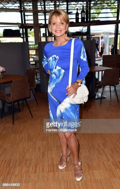 Actress Uschi Glas attends the Pre Golf Party during the 9th Golf Charity Cup hosted by the Christoph Metzelder Foundation on May 20 2017 in...