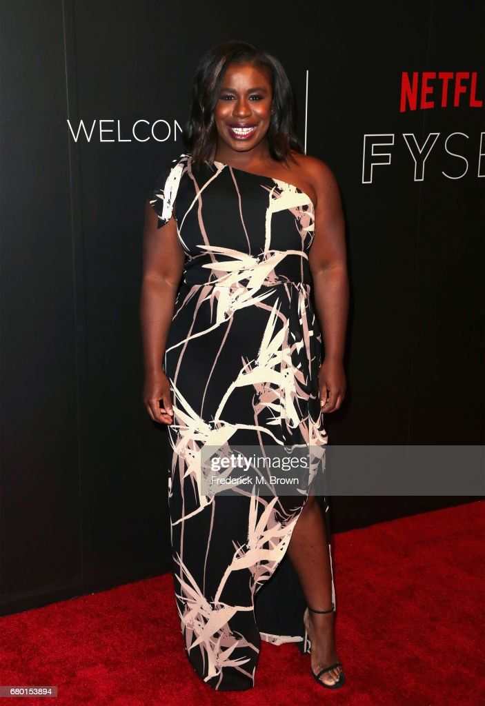 Actress Uzo Aduba arrives at the Netflix FYSee Kick Off Event at Netflix FYSee Space on May 7, 2017 in Beverly Hills, California.