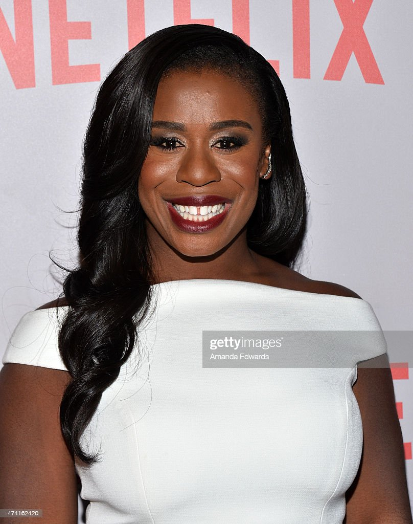 Actress Uzo Aduba arrives at the Netflix 'Orange Is The New Black' For Your Consideration Screening and Q&A at the Director's Guild Of America on May 20, 2015 in Los Angeles, California.