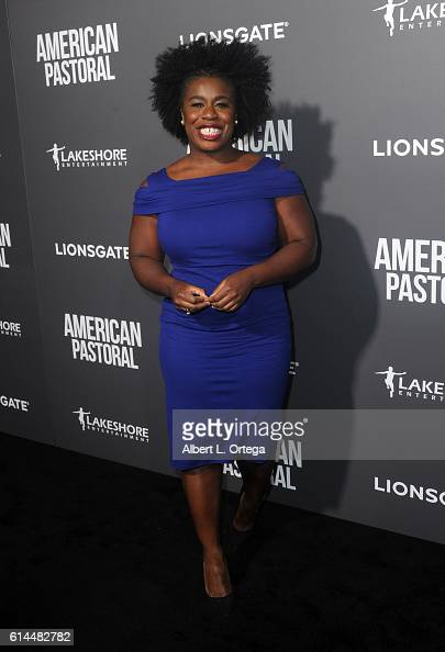 Actress Uzo Aduba arrives for the Special Screening Of Lionsgate's 'American Pastoral' held at the Samuel Goldwyn Theater on October 13 2016 in...