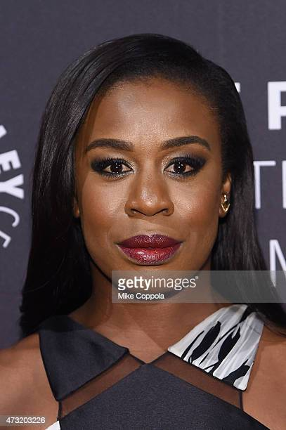 Actress Uzo Aduba attends A Tribute To AfricanAmerican Achievements In Television hosted by The Paley Center For Media at Cipriani Wall Street on May...