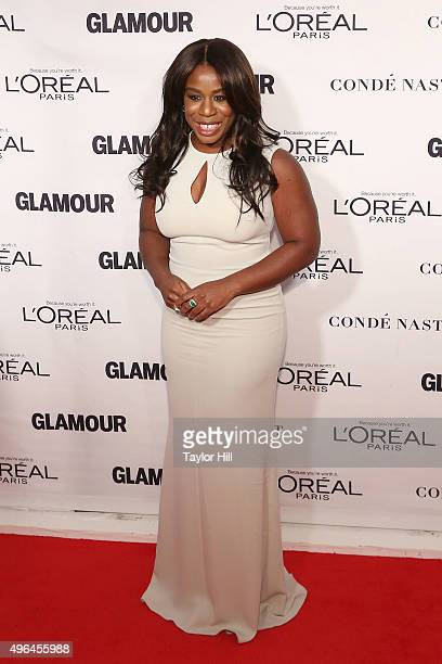 Actress Uzo Aduba attends Glamour's 25th Anniversary Women Of The Year Awards at Carnegie Hall on November 9 2015 in New York City