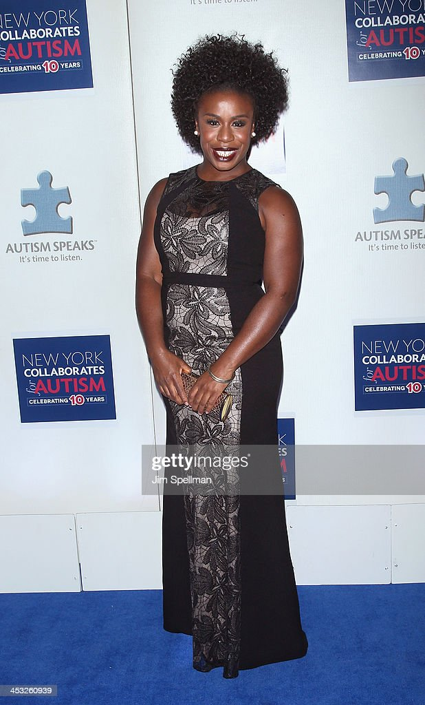 Actress Uzo Aduba attends the 2013 Winter Ball For Autism the at Metropolitan Museum of Art on December 2, 2013 in New York City.