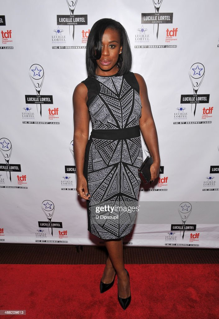 Actress <a gi-track='captionPersonalityLinkClicked' href=/galleries/search?phrase=Uzo+Aduba&family=editorial&specificpeople=7042411 ng-click='$event.stopPropagation()'>Uzo Aduba</a> attends the 29th Annual Lucille Lortel Awards at NYU Skirball Center on May 4, 2014 in New York City.