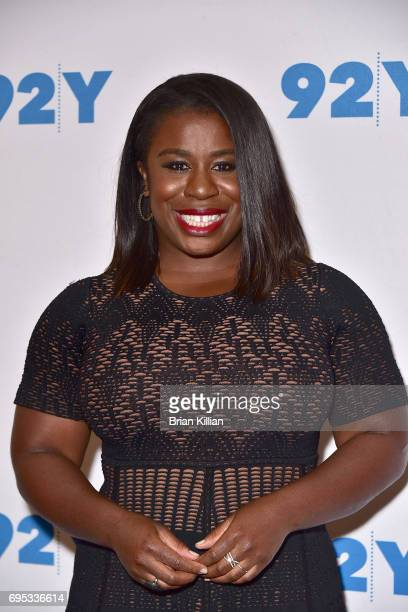 Actress Uzo Aduba attends the 'Orange is the New Black' Season Five Debut Screening And Conversation at 92nd Street Y on June 12 2017 in New York City