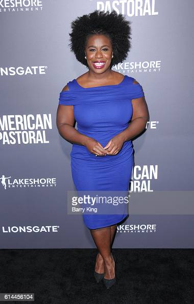Actress Uzo Aduba attends the premiere of Lionsgate's' 'American Pastoral' at Samuel Goldwyn Theatre on October 13 2016 in Beverly Hills California