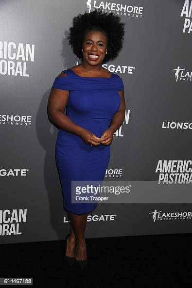 Actress Uzo Aduba attends the special screening of Lionsgate's 'American Pastoral' held at The Samuel Goldwyn Theater on October 13 2016 in Beverly...