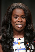 Actress Uzo Aduba speaks onstage during the 'Orange Is the New Black' panel discussion at the Netflix portion of the 2015 Summer TCA Tour at The...